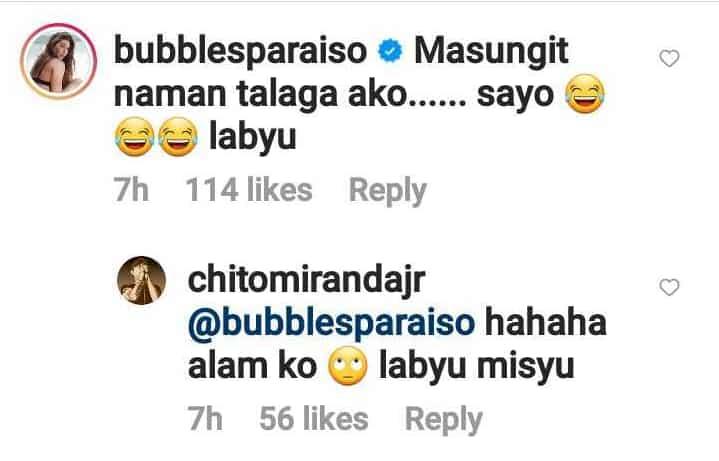 "Chito Miranda greets friend Bubbles Paraiso: ""Happy birthday, Sungit"""