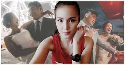 Mabuhay ang bagong kasal! Jade Lopez ikinasal na sa long-time boyfriend na si Roccky Siccion
