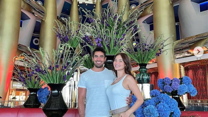 Pia Wurtzbach's boyfriend takes her to the world's most luxurious hotel