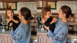 "Solenn Heussaff, baby Thylane's ""music video"" of 'Duyan Duyan' warms netizens' hearts"