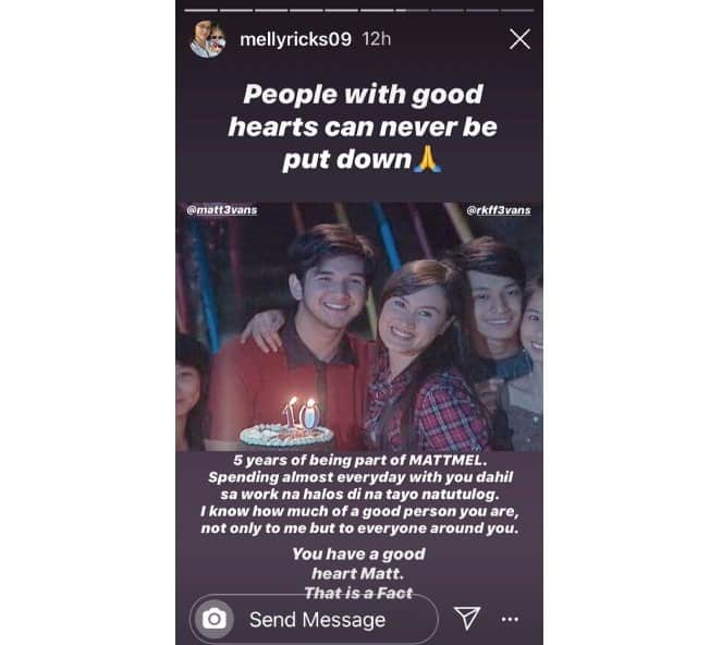 Matt Evans' former onscreen partner Melissa Ricks comments on his arrest