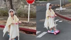 Video of Scarlet Snow Belo riding a scooter in the street goes viral