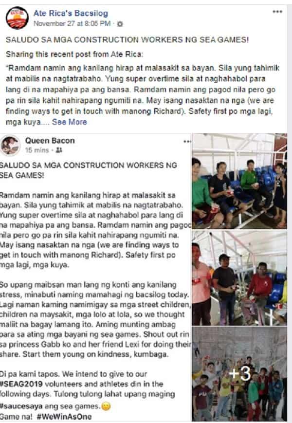 Ate Rica's Bacsilog, may libreng pakain sa mga atleta at volunteers ng SEA Games!