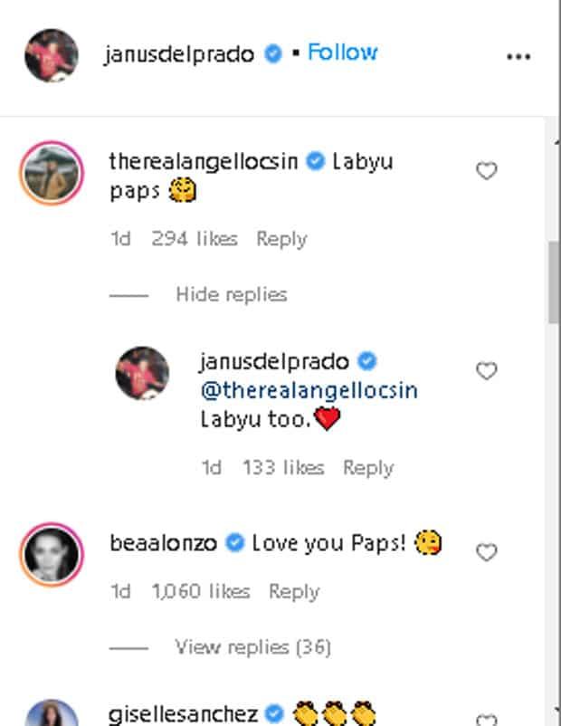Angel Locsin, Bea Alonzo, nagpakita ng suporta kay Janus del Prado sa gitna ng mga isiniwalat niya kamakailan