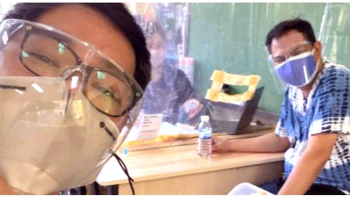 Ka Tunying, nag-TY sa baong bigay ng nakasabay sa pagpapaturok ng COVID vaccine