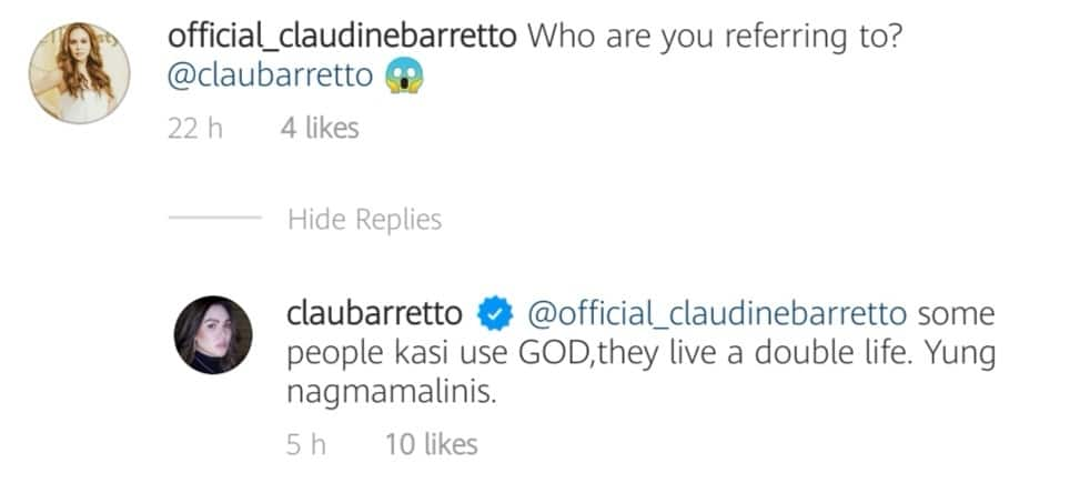 Claudine Barretto calls out people who use God and live a double life