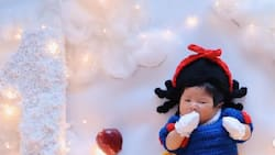 Sheena Halili posts adorable pictures of baby Martina who turned 1 month old