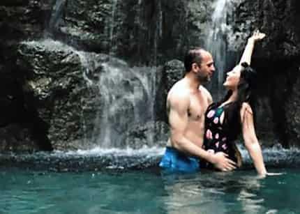 Netizens react to KC Concepcion's secret vacation post with fiancé