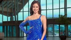 Kisses Delavin stuns during Miss Universe PH 2021 preliminary competition