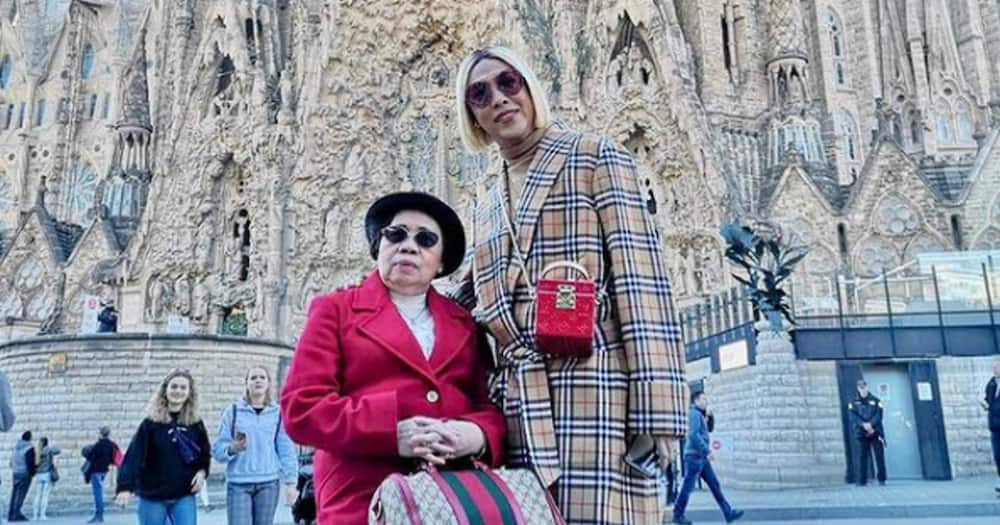 Vice Ganda asked his mom if she's sad that her sons are gay; mom says no & explains why