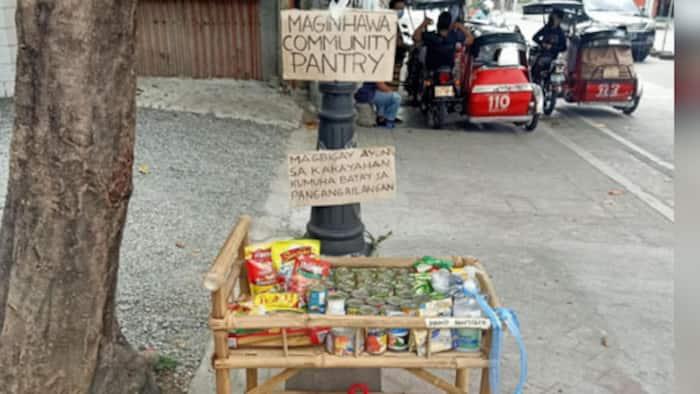 Malacañang, sinabing hindi na dapat pakialaman ang mga community pantry