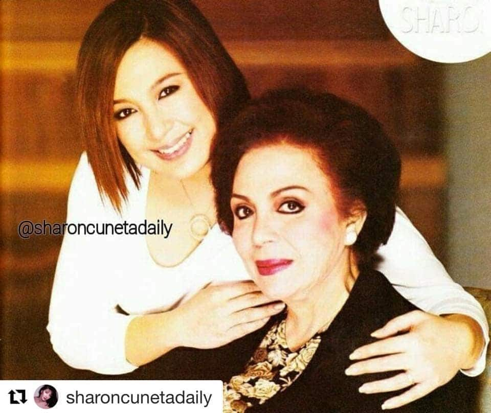 Image from a Facebook post by Sharon Cuneta