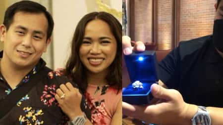 """Julius Naranjo shares story behind Hidilyn Diaz's engagement ring: """"This is a barbell"""""""
