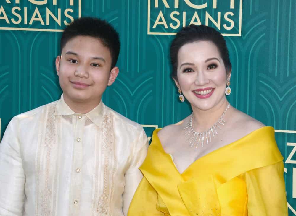 Kris Aquino's latest photo with son Bimby growing taller goes viral; celebs react