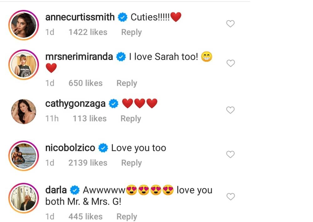 Celebs react to Matteo Guidicelli's post after honeymoon with Sarah Geronimo