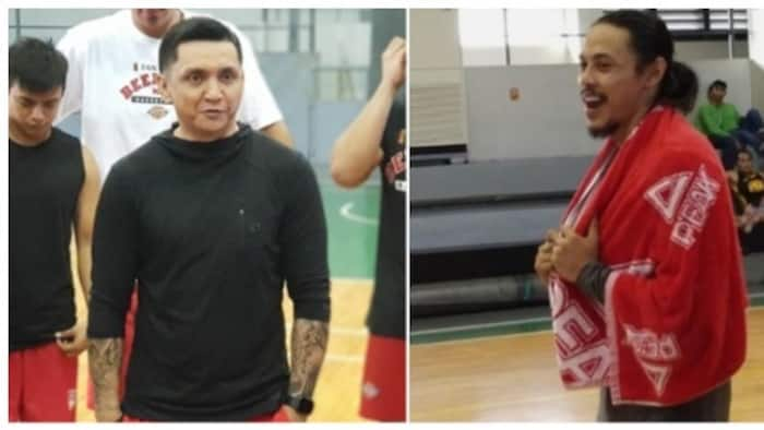 It's official! Terrence Romeo and Jimmy Alapag finally join San Miguel Beermen practice