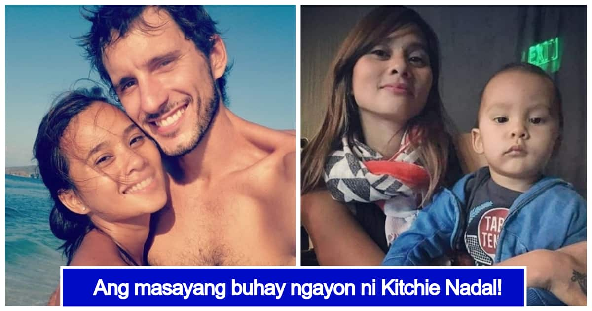 Kitchie Nadal Is Now Living A Quiet Life With Her Spanish Husband And Their Child Kami Com Ph