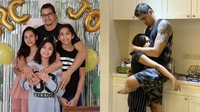 Danica Sotto shares adorable photo of Caela seeking comfort from Marc Pingris