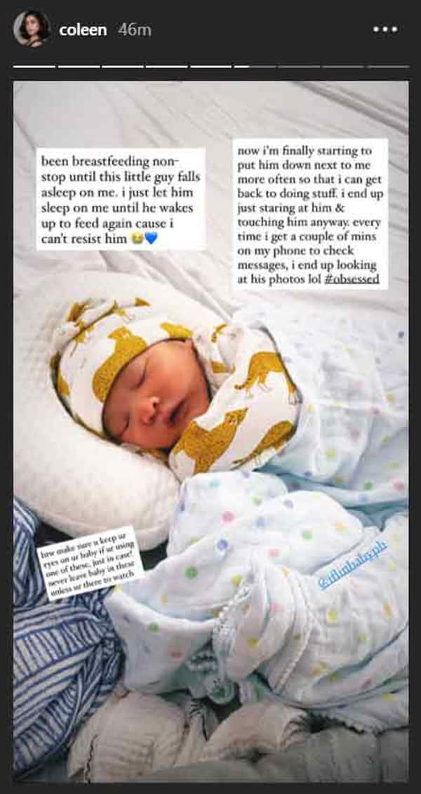 Coleen Garcia experiences first mommy-scare with Baby Amira