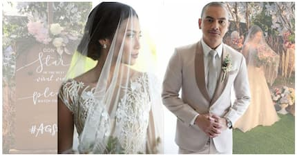 A peek into the beautiful wedding of Archie Alemania and Gee Canlas
