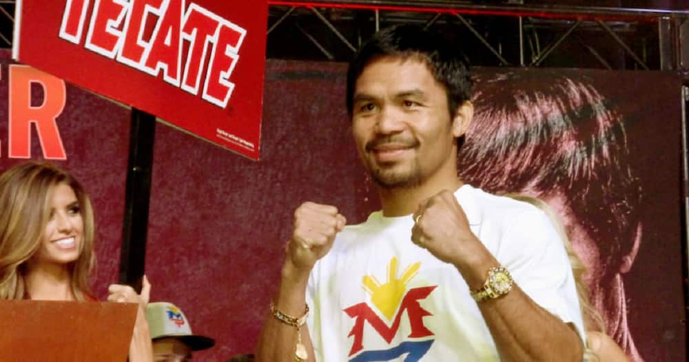 Manny Pacquiao shares that his son Michael sometimes cries due to bashers