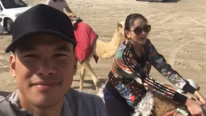 Mark Bautista shares bonding moments with Sarah Geronimo in Qatar