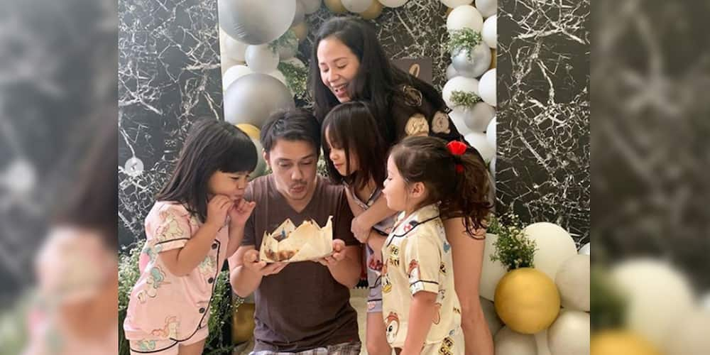 Patrick Garcia receives sweet birthday surprise from wife and adorable kids