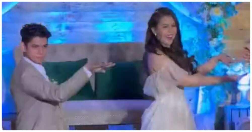 Newlyweds na todo hataw sa kanilang special number, kinagiliwan ng netizens
