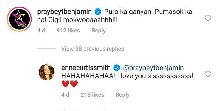 "Vice Ganda hilariously reacts to Anne Curtis' video: ""Pumasok ka na"""