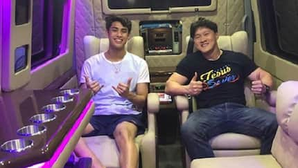 Donny Pangilinan gets emotional after seeing his newly customized van