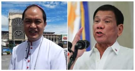 Bishop David responds to accusations thrown by President Duterte