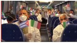 Medical team mula Cuba, nakarating na sa Italy upang tumulong laban sa COVID-19