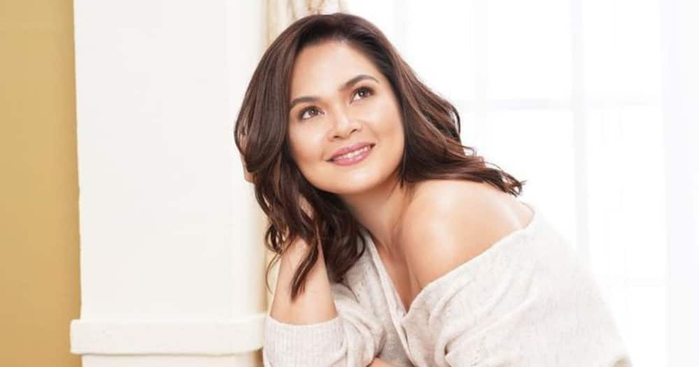 """Judy Ann Santos declines to answer question about """"The Broken Marriage Vow"""" out of respect to Jodi Sta. Maria"""