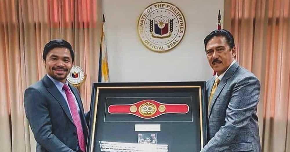 """Celebrities at netizens, nagbigay ng suporta sa Pambansang Kamao: """"Go Manny!"""""""