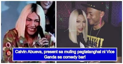 Supportive BF? Calvin Abueva surprisingly appeared on Vice Ganda's comedy bar gig