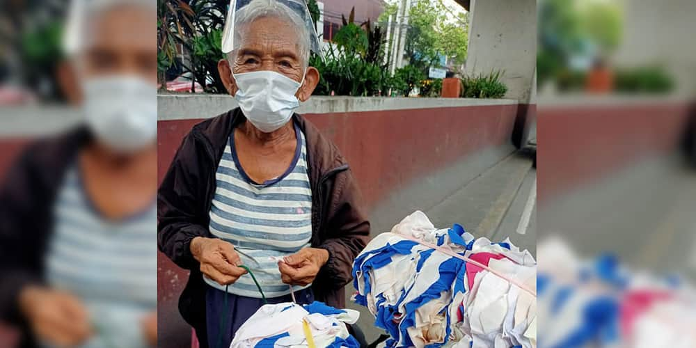 """Netizen buys all of lola's """"basahan"""" amid pandemic so she could go home"""