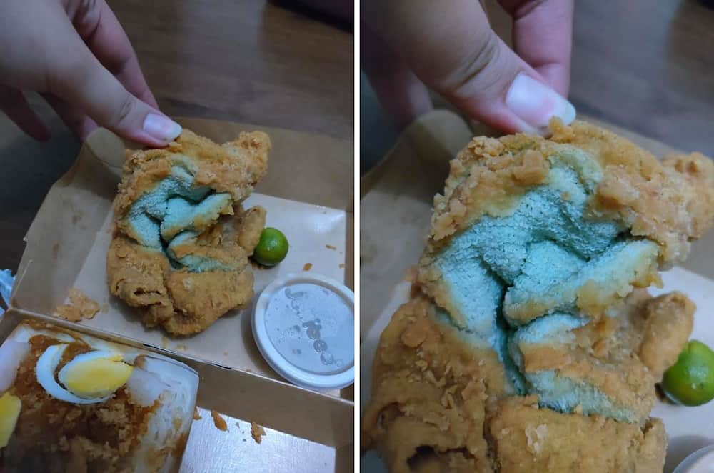 Customer claims that her fried chicken was replaced with fried towel