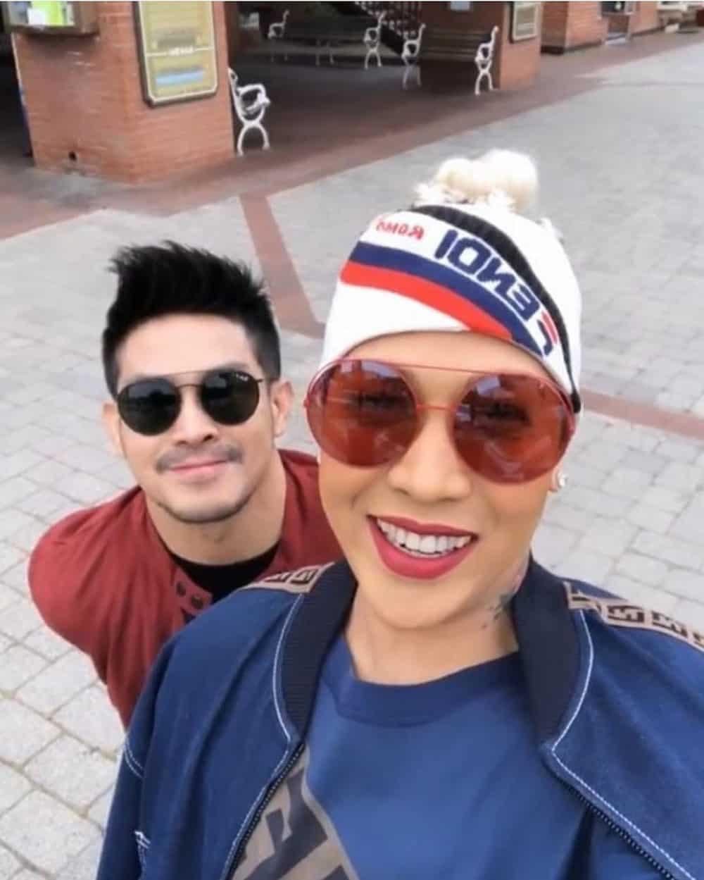 Vice Ganda and Ion