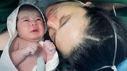 Mark Herras, Nicole Donesa welcome their son baby Corky