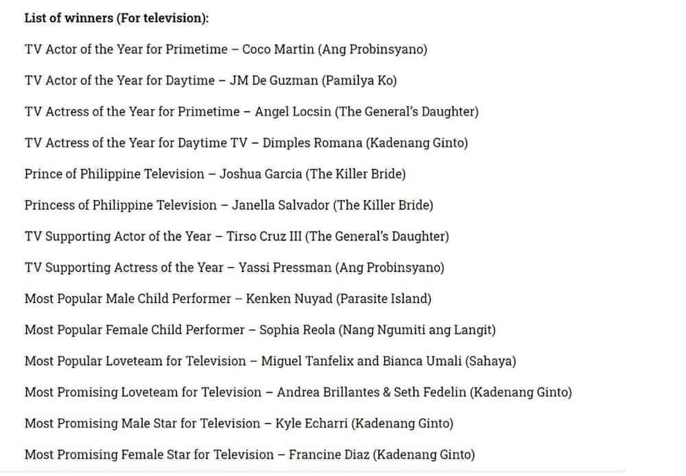 Kathryn Bernardo, Alden Richards win big at Guillermo Mendoza Box-Office Awards
