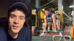 """Video ni Xian Lim na may kwelang """"hugot"""" tungkol sa weightlifting, kinaaliwan"""
