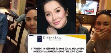 Kris Aquino's lawyers respond to Gretchen Barretto's allegations