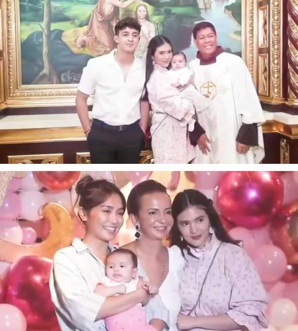Sofia Andres' baby Zoe gets baptized; Kathryn Bernardo attends event