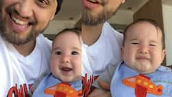 Video of baby Amari's funny reaction to Coleen and Billy's singing goes viral