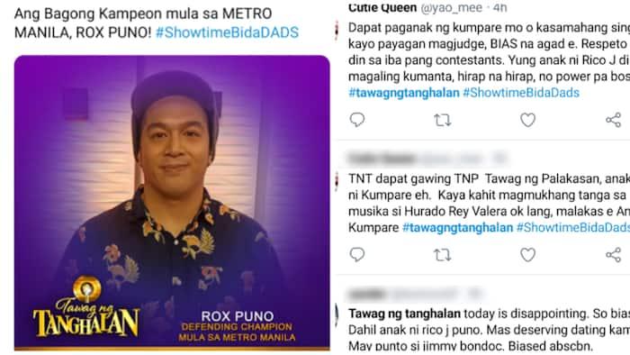 Netizens, umalma sa umano'y 'biased' na judging sa TNT kung saan nanalo ang anak ni Rico Puno