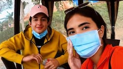 """Sofia Andres goes on a """"weekend excursion"""" in Rizal with Daniel Miranda"""