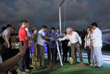 President Duterte leads the groundbreaking of PH's longest bridge ever