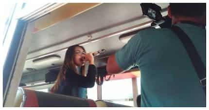Bus na may pa-videoke sa loob, libre sakay sa pasaherong 100 ang score