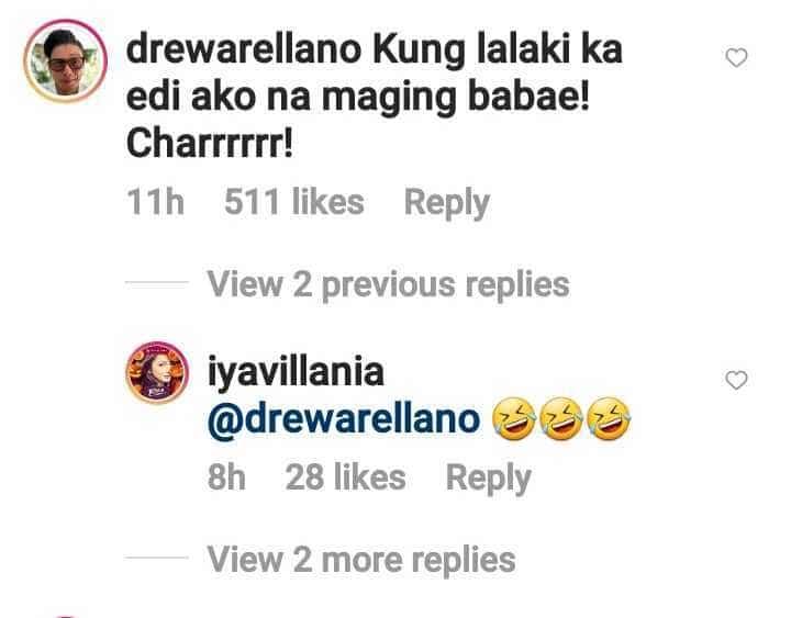 """Drew Arellano sa """"mukhang lalaki"""" comment kay Iya Villania: """"Ako na maging babae"""""""