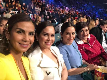 Nawindang ang netizens! Photo of Jinkee Pacquiao with Dyan Castillejo during Pacman's fight went viral